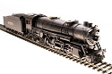 HO USRA 2-8-2 Heavy Mikado with Sound and DCC - Paragon3 -- Southern Railway 4850 (black, graphite)