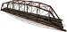 Central Valley, HO Scale 200' Double Track Truss Bridge Kit