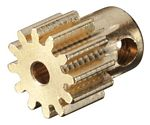 Pinion Gear 12T .6 Module 2mm Shaft