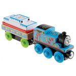 Birthday Thomas the Tank Engine - Thomas and Friends(TM) Wooden Railway -- Blue with Balloons