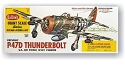 Guillows, P47D Thunderbolt Balsa Plane Kit