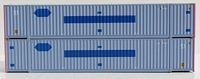 N Scale COFC (ex-Pacer) 53' HIGH CUBE 6-42-6 corrugated containers with Magnetic system. JTC # 535068