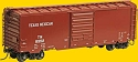 Pullman-Standard PS-1 40' Boxcar w/8' Door - Ready to Run -- Texas Mexican #8952 (Built 1957, Boxcar Red)