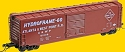 PS-1 50' Boxcar w/9'  Door - Ready to Run -- Atlanta & West Point Railroad # 51009 (Boxcar Red)