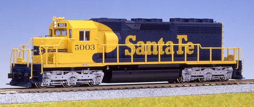Diesel EMD SD40 Powered -- Santa Fe #5003