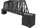 EXTENDED TRUSS BRIDGE