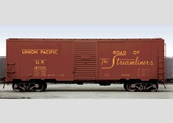 UP SET OF 10 BOXCARS (D)      0