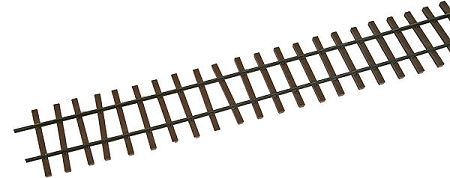 Micro-Engineering, On30 Code 83 Weathered Flex Track (6/pk)