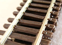 Micro Engineering HO Code 70 Standard Gauge Flex-Track(TM) -- Nonweathered 3' pkg(6)