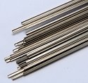 Micro Engineering HO Weathered Nickel Silver Rail - 3' Long Pieces -- Code 100 pkg(33)