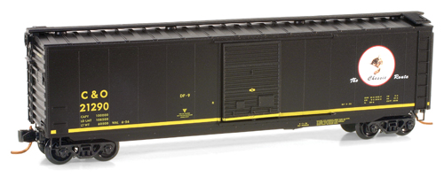 Micro-Trains, 50' Standard Box Car - Chesapeake & Ohio #21290