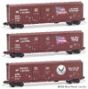 Micro-Trains, 75102 Wisconsin & Southern 9-11 Commemorative 3-pack