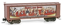 Z Scale Ringling Bros. Billboard Series Wood Sheathed Boxcar -- Car #11 (