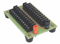 24-Position Prewired Power Distribution Block -- Rated at 15 Amps