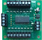 Button Board -- For Use w/Switch8-MK2 Switch Machine Decoder #524-151