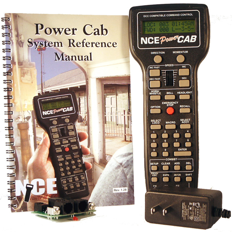 NCE Power Cab DCC Starter System