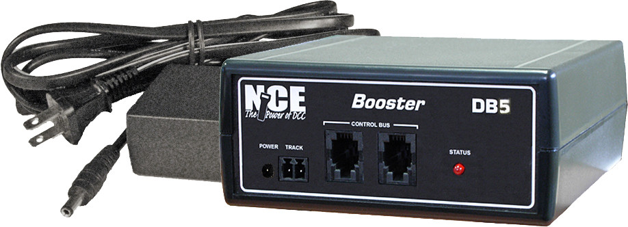 NCE DB5 Add-On Booster -- 5-Amp