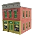 Ameri-Towne, O Scale Marvin's Drug Store 2-Story Building Kit