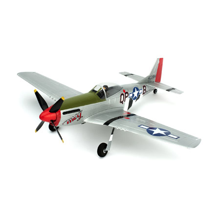 Ultra-Micro P-51D Mustang BNF with AS3X