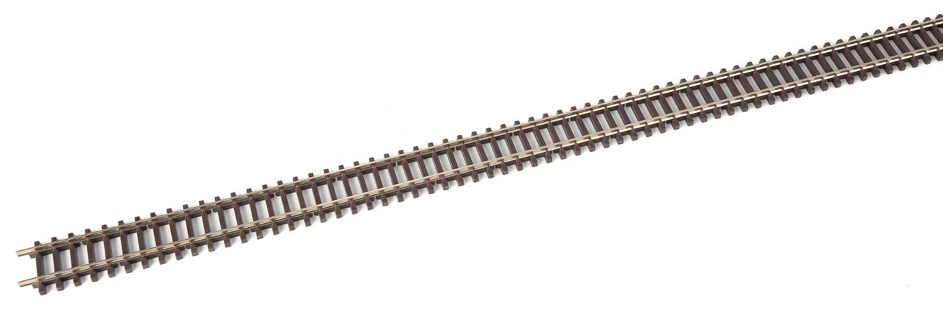 PECO N Scale Streamline Code 80 Track Section Curved Turnout