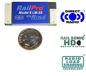 LM-3S, Locomotive Module w/Sound & Direct Radio(TM) - RailPro(TM)