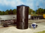 Rix, HO Scale Peaked Top Water/Oil Tank -- Kit - Scale Height 43'  13.1m