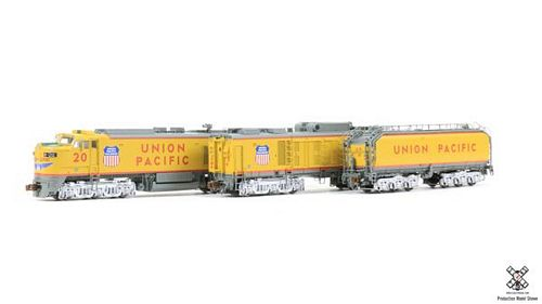 N Scale Rivet Counter union Pacific GTEL 8500 HP