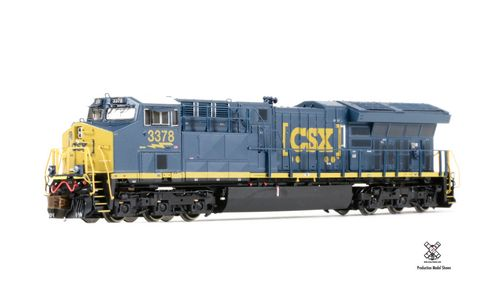 Rivet Counter N Scale GE Tier 4 GEVo ET44C4 - CSX Sound and DCC #3378