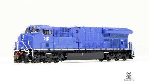 Rivet Counter N Scale GE Tier 4 GEVo ET44C4 - GECX Non-Sound (DC) #2022