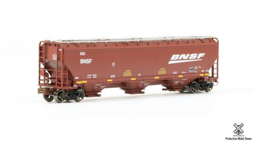 N Scale Greenbrier/Gunderson 5188 Covered Hopper - BNSF #489109