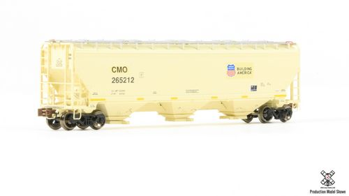 N Scale Greenbrier/Gunderson 5188 Covered Hopper - CMO Building America #265214