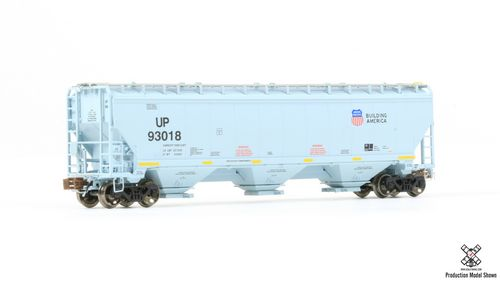 N Scale Greenbrier/Gunderson 5188 Covered Hopper - UP #93432