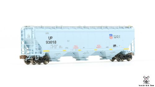 N Scale Greenbrier/Gunderson 5188 Covered Hopper - UP #93319