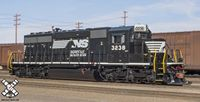 HO SD40-2 DCC/SND Norfolk Southern/Admiral Cab/Horsehead #3238