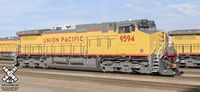 RC HO Scale DASH 9-44CW w/snd - UP #9594