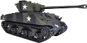 Taigen, 1/16th R/C 2.4ghz Sherman 76MM M4A3 (Metal Edition) Tank w/Airsoft