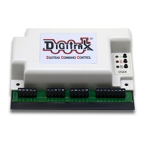 Digitrax DS64 Stationary Decoder -- 4-Output