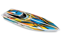 Traxxas Blast: High Performance Race Boat with TQ 2.4GHz radio system - Orange