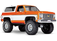 Traxxas, TRX-4 Scale and Trail Crawler with Blazer Body: 1/10 Scale 4X4 Trail Truck - Orange Body