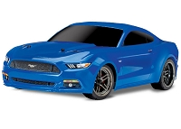 Ford Mustang GT: 1/10 Scale AWD Supercar with TQ 2.4GHz radio system - Blue