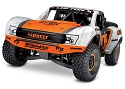 Unlimited Desert Racer:  4WD Electric Race Truck with TQi Traxxas Link Enabled 2.4GHz Radio System - FOX