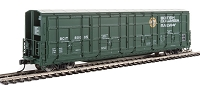 WalthersProto HO 56' Thrall All-Door Boxcar - Ready to Run -- British Columbia BCIT #800105 (green, white, yellow, Dogwood Logo)