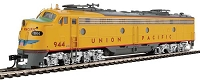 EMD E9A with LokSound Select and DCC -- Union Pacific(R) #944 (Armour Yellow, gray, red)