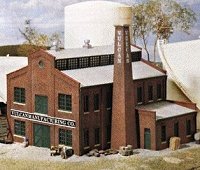 Walthers N Scale Vulcan Manufacturing Co. -- Plastic Model Kit