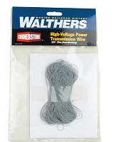 Walthers Cornerstone High-Voltage Power Transmission Wire -- 100' 30m (Non-Working)