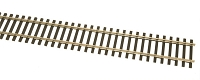 WalthersTrack HO Code 100 Nickel Silver Flex Track with Wood Ties -- 36