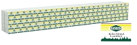 Walthers SceneMaster HO Wrapped Lumber Load for WalthersMainline 72' Centerbeam Flatcar -- Irving Lumber (yellow, green)