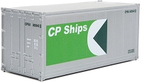 Walthers HO 20' Smooth-Side Container - Ready to Run -- CP Ships
