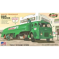 Atlantis Models Vintage White Gasoline Truck Sinclair US Army, 1/48