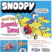 Atlantis Toy & Hobby Snoopy and His Sopwith Camel (Snap)